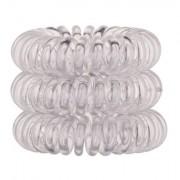 Invisibobble The Traceless Hair Ring elastico per capelli 3 ks tonalità Crystal Clear donna