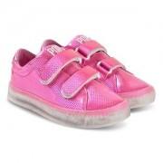 Pop Shoes St Laurent EZ Sneakers Safety Pink Barnskor 33 EU