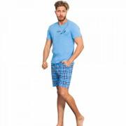 Pijama Barbati Gazzaz by Vienetta, 'Wind Surfing' Blue