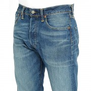 Levi's 501 Jeans Burnt Red Blue Size 31
