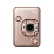 Fujifilm Cámara Instantánea FUJIFILM Instax Mini LiPlay (Blush Gold - Obturación: 1/4 - 1/8000 s - Li-Ion - 62x46 mm)