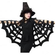 Merkloos Zwarte cape voor halloween