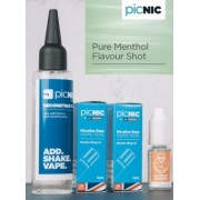 Lichid Tigara Electronica Premium Jac Vapour Pure Menthol 70ml, Nicotina 5,1mg/ml, 80%VG 20%PG, Fabricat in UK, Pachet DiY