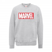 Marvel Sudadera Marvel Logo Principal - Hombre - Gris - XL - Gris