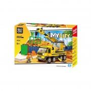 Joc constructie Blocki, Camion cu macara, 233 piese