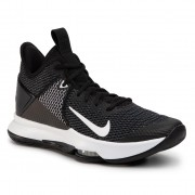 Обувки NIKE - Lebron Witness IV BV7427 001 Black/White/Iron Grey