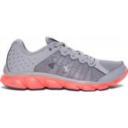 Under Armour ženske sportske tenisice W Micro G Assert 6, sivo/narančaste, 40 (8,5)