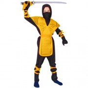 RG Costumes 90005-Y-S Dragon Ninja Master - Yellow Costume - Size Child-Small