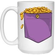 662 - RTP - Maria Funny Bundle - Golden Coins Pocket - 21504 15 oz. White Mug