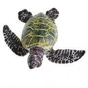 MagiDeal PVC Marine Animal Models Figurine Kids Children Nature & Science Toys - Green Turtle