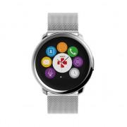 MyKronoz ZeRound smartwatch milanese band - Zilver