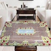 AS Attractive Flowers Design Center Table Cover - Multicolor