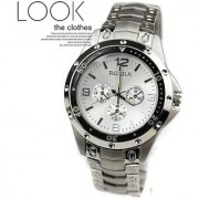 LEBENSZEIT New Stylish Trendy Rosra Stainless Steel Watch