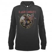 sweat-shirt avec capuche pour hommes Iron Maiden - AMPLIFIED - AMPLIFIED - ZAV390TRO