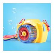 Electric Cámara En Forma De Sonido Intermitente Juguete, Máquina De Burbujas, Color Al Azar Entrega, Bubble Liquid No Incluido
