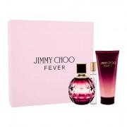 Jimmy Choo Fever confezione regalo eau de parfum 100 ml + lozione corpo 100 ml + eau de parfum 7,5 ml Donna