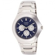 Casio Enticer Blue Dial Mens Watch - Mtp-1247D-2Avdf (A390)