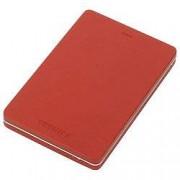 Toshiba 1 TB External Portable Hard Drive Canvio Alu USB 3.0 Red