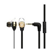 Verbatim Urban Sound Wired Earbud Stereo Earset - Black, Gold