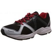 Reebok Men's Reebok Thunder Run Grey,Black,Red,Silver And White Running Shoes - 6 UK/India (39 EU) (7 US)