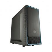 Carcasa computer cooler master chassis masterbox e500 l blue