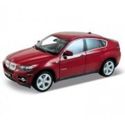 Auto 1:18 Welly BMW X6 bordové