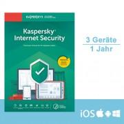 Kaspersky Lab Kaspersky Internet Security 2020 - Multi-Device, 3 Geräte - 1 Jahr, ESD
