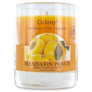 Colony Doftljus I Glas Mandarin Peach, Colony