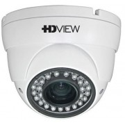 "Camera Supraveghere Video HDVIEW AHD-2SMIR2, 2MP, 1/2.9"" Sony CMOS, 2.8-12mm, IR 30m, Zoom motorizat, 36 LED, Carcasa metal (Alb)"