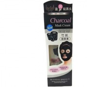 CHARCOAL PURIFYING CLEANSING BLACK PEEL OFF MASK ANTI-BLACKHEAD SUCTION MASK CREAM - 130G