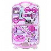 REBUY My Family Operated Plastic Doctor Set Medical Suitcase Plastic Toy for Kids (Multicolour)