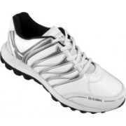 Action White Blue Sport running Shoe -7114 Walking Shoes For Men(White)
