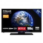 Finlux FL3225FSMART TV 32 inch (81 cm) DLED SMART TV met ingebouwde Wi-Fi Full HD