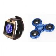 Zemini DZ09 Smart Watch and Fidget Spinner for LG OPTIMUS L3 II DUAL(DZ09 Smart Watch With 4G Sim Card Memory Card| Fidget Spinner)