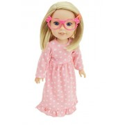 My Brittany's Pink Bow Glasses For American Girl Dolls Wellie Wishers
