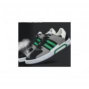 Leisure Trend Hit Color Wear Resistente Zapatillas Skateboard --ERDE