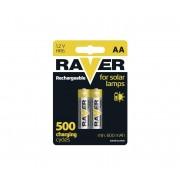 2 buc Baterii reîncărcabile AA RAVER NiMH/1,2V/600 mAh