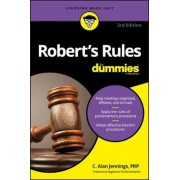 Robert's Rules for Dummies, Paperback