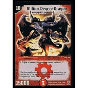 Duel Masters Original Billion Degree Dragon Premium Foiled Card 100 Original