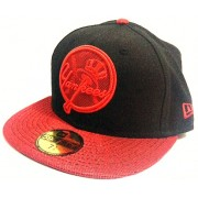 Boné New Era New York Yankees Black & Red - 7 1/4 - M