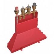 Axor Combiné thermostatique 4 trous. Corps d'encastrement pour montage sur bord de baignoire (15482180)