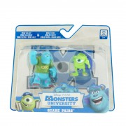 Set 2 figurine monsters, Sulley & Mike, Disney