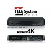 TS ULTRA 4K DVB-T2/S2 kombo Satellit och Marksänd-boxer