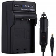 Puluz Camara Digital Bateria Cargador De Coche Para Fujifilm Np-w126