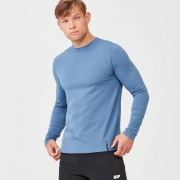 Myprotein Luxe Classic Long Sleeve Crew - XL - Blue