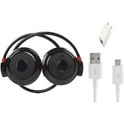 Bluetooth Headset Sports Mini 503 With Wall Charger And Cable