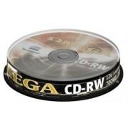 CD-RW OMEGA 700MB 12X CAKE 10