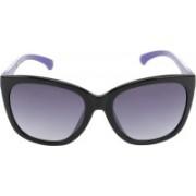 Calvin Klein Rectangular Sunglasses(Grey)