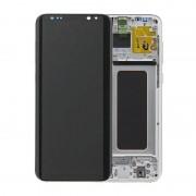 Estrutura para a Parte Frontal e Ecrã LCD GH97-20470B para Samsung Galaxy S8+ - Prateado