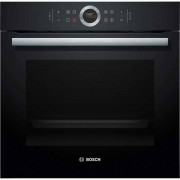 Bosch Serie 8 HBG674BB1B Built In Electric Single Oven - Black - A+ Rated